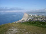 Eastern end of Chesil Beach