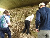Investigating the dolomite under the M6
